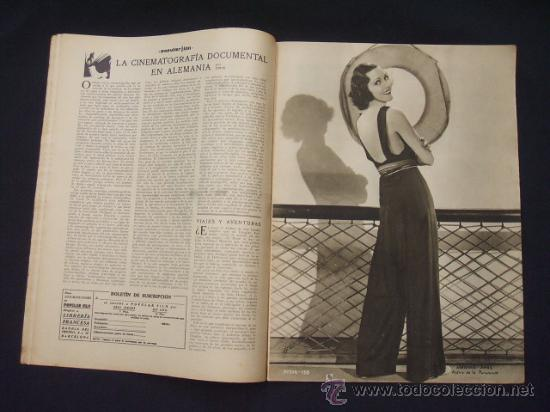 Cine: POPULAR FILM - Nº 309 - 14 JULIO 1932 - PORTADA, PHILLIP HOLMES Y NANCY CARROLL - - Foto 5 - 26405960