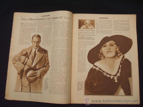 Cine: POPULAR FILM - Nº 309 - 14 JULIO 1932 - PORTADA, PHILLIP HOLMES Y NANCY CARROLL - - Foto 6 - 26405960
