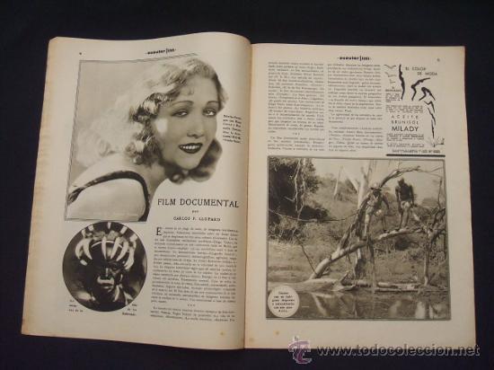 Cine: POPULAR FILM - Nº 309 - 14 JULIO 1932 - PORTADA, PHILLIP HOLMES Y NANCY CARROLL - - Foto 7 - 26405960