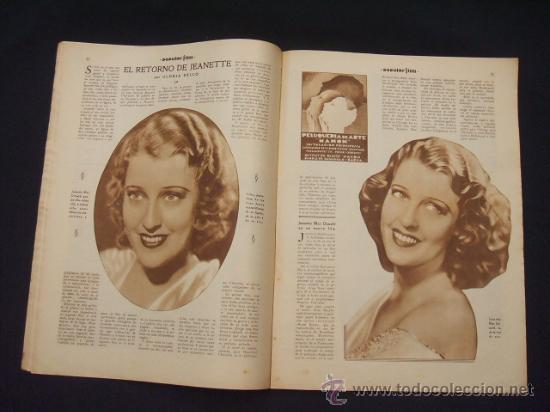 Cine: POPULAR FILM - Nº 309 - 14 JULIO 1932 - PORTADA, PHILLIP HOLMES Y NANCY CARROLL - - Foto 8 - 26405960