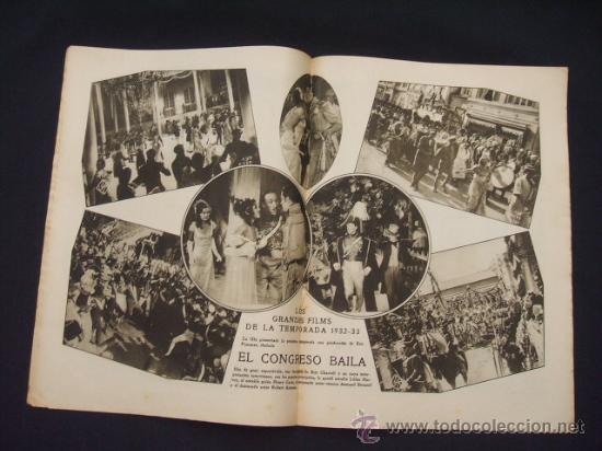 Cine: POPULAR FILM - Nº 309 - 14 JULIO 1932 - PORTADA, PHILLIP HOLMES Y NANCY CARROLL - - Foto 9 - 26405960