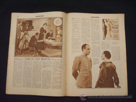 Cine: POPULAR FILM - Nº 309 - 14 JULIO 1932 - PORTADA, PHILLIP HOLMES Y NANCY CARROLL - - Foto 10 - 26405960