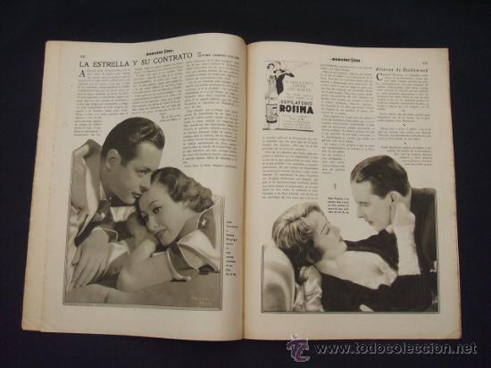 Cine: POPULAR FILM - Nº 309 - 14 JULIO 1932 - PORTADA, PHILLIP HOLMES Y NANCY CARROLL - - Foto 11 - 26405960