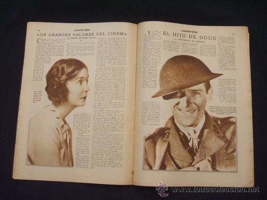 Cine: POPULAR FILM - Nº 309 - 14 JULIO 1932 - PORTADA, PHILLIP HOLMES Y NANCY CARROLL - - Foto 12 - 26405960