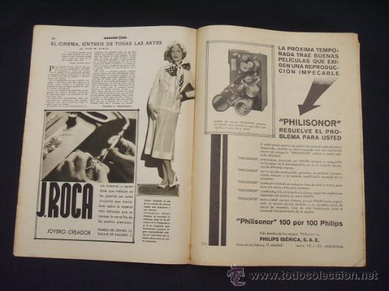 Cine: POPULAR FILM - Nº 309 - 14 JULIO 1932 - PORTADA, PHILLIP HOLMES Y NANCY CARROLL - - Foto 13 - 26405960