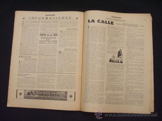 Cine: POPULAR FILM - Nº 309 - 14 JULIO 1932 - PORTADA, PHILLIP HOLMES Y NANCY CARROLL - - Foto 15 - 26405960