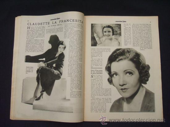 Cine: POPULAR FILM - Nº 312 - 4 AGOSTO 1932 - PORTADA, MARTA EGGERTH - - Foto 6 - 26406030