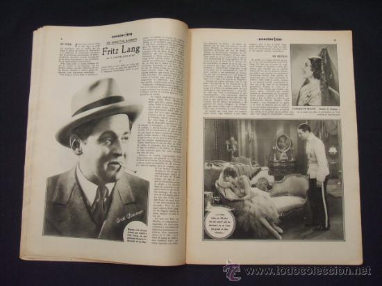 Cine: POPULAR FILM - Nº 312 - 4 AGOSTO 1932 - PORTADA, MARTA EGGERTH - - Foto 7 - 26406030