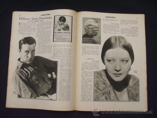 Cine: POPULAR FILM - Nº 312 - 4 AGOSTO 1932 - PORTADA, MARTA EGGERTH - - Foto 10 - 26406030