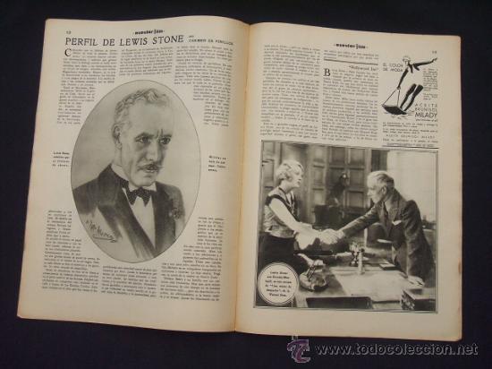 Cine: POPULAR FILM - Nº 312 - 4 AGOSTO 1932 - PORTADA, MARTA EGGERTH - - Foto 11 - 26406030