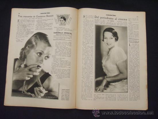 Cine: POPULAR FILM - Nº 312 - 4 AGOSTO 1932 - PORTADA, MARTA EGGERTH - - Foto 12 - 26406030