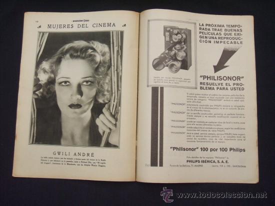 Cine: POPULAR FILM - Nº 312 - 4 AGOSTO 1932 - PORTADA, MARTA EGGERTH - - Foto 13 - 26406030