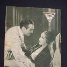 Cine: POPULAR FILM - Nº 304 - 9 JUNIO 1932 - PORTADA, DOUGLAS FAIRBANKS Y BEBE DANIELS - . Lote 26406229