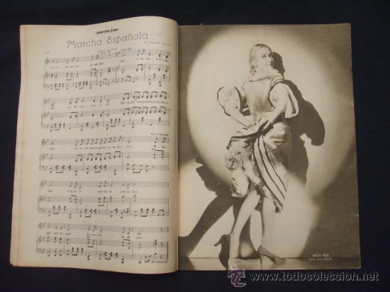 Cine: POPULAR FILM - Nº 299 - 5 MAYO 1932 - PORTADA, JOHNNY WEISSMULLER Y MAUREN OSULLIVAN - - Foto 5 - 26410394