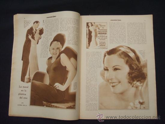 Cine: POPULAR FILM - Nº 299 - 5 MAYO 1932 - PORTADA, JOHNNY WEISSMULLER Y MAUREN OSULLIVAN - - Foto 6 - 26410394