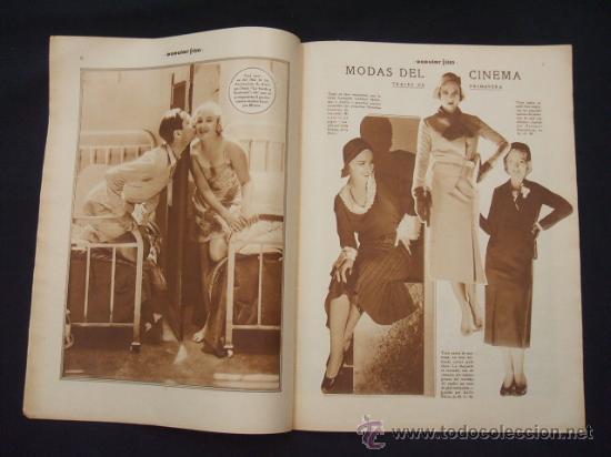 Cine: POPULAR FILM - Nº 299 - 5 MAYO 1932 - PORTADA, JOHNNY WEISSMULLER Y MAUREN OSULLIVAN - - Foto 8 - 26410394