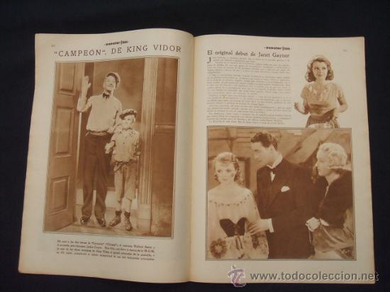 Cine: POPULAR FILM - Nº 299 - 5 MAYO 1932 - PORTADA, JOHNNY WEISSMULLER Y MAUREN OSULLIVAN - - Foto 10 - 26410394