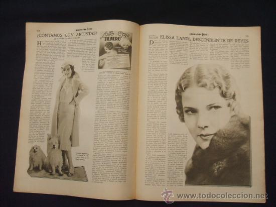 Cine: POPULAR FILM - Nº 299 - 5 MAYO 1932 - PORTADA, JOHNNY WEISSMULLER Y MAUREN OSULLIVAN - - Foto 11 - 26410394