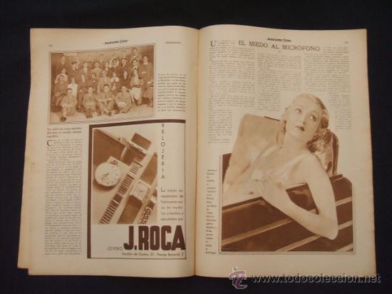 Cine: POPULAR FILM - Nº 299 - 5 MAYO 1932 - PORTADA, JOHNNY WEISSMULLER Y MAUREN OSULLIVAN - - Foto 12 - 26410394