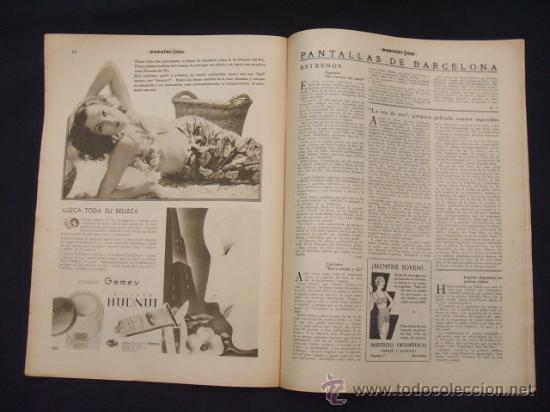 Cine: POPULAR FILM - Nº 299 - 5 MAYO 1932 - PORTADA, JOHNNY WEISSMULLER Y MAUREN OSULLIVAN - - Foto 13 - 26410394