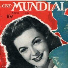 Cine: MARGUERITE CHAPMAN .REVISTA CINE MUNDIAL 1947.. Lote 26500842