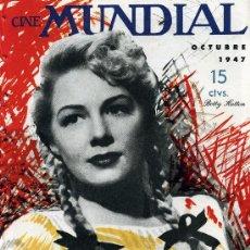 Cine: BETTY HUTTON .REVISTA CINE MUNDIAL 1947.. Lote 26501115