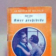 Cine: LIBRO, NOVELAS DE BOLSILLO, AMOR PROHIBIDO, Nº 32. Lote 26521610