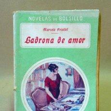 Cine: LIBRO, NOVELAS DE BOLSILLO, LADRONA DE AMOR, Nº 3, ROSINA. Lote 26521647