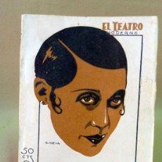 Cine: LIBRO, NOVELA, EL TEATRO MODERNO, EL AMIGO TEDDY, AÑO VIII, Nº 328, PRENSA MODERNA. Lote 26521966