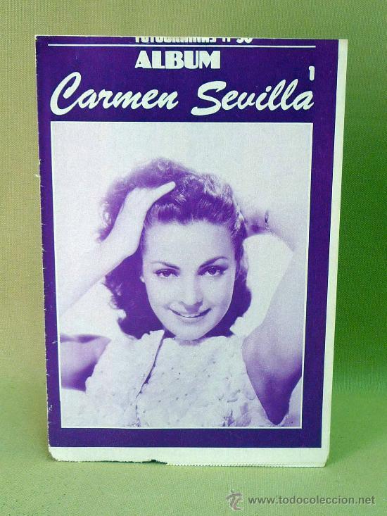 REVISTA, FOTOGRAMAS, ALBUM, CARMEN SEVILLA I, Nº 50, (Cine - Revistas - Fotogramas)
