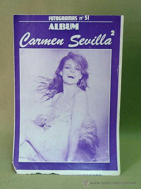 REVISTA, FOTOGRAMAS, ALBUM, CARMEN SEVILLA II, Nº 51 (Cine - Revistas - Fotogramas)