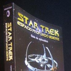 Cine: STAR TREK. ESPACIO PROFUNDO 9. GUÍA DE EPISODIOS. LIBRO ENCICLOPEDIA SOBRE LA SERIE. STAR TREK.. Lote 227709455