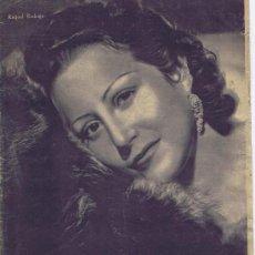 Cinema: PRIMER PLANO. REVISTA ESPAÑOLA DE CINEMATOGRAFÍA, Nº 166 (19-12-1943). MADRID: DEPARTAMENTO DE CINE . Lote 26995696