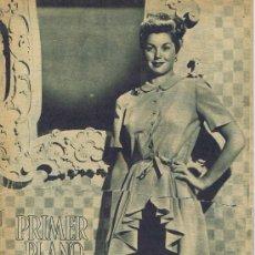 Cine: PRIMER PLANO. REVISTA ESPAÑOLA DE CINEMATOGRAFÍA, Nº 275 (20-01-1946). MADRID: DEPARTAMENTO DE CINE . Lote 26996063