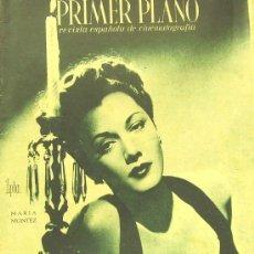 Cine: MARIA MONTEZ PRIMER PLANO SPANISH MAGAZINE 1945 Nº228 SPAIN. Lote 137600692