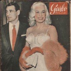 Cine: REVISTA GARBO-RAY ANTHONY Y MAMIE VAN DOREN-NUM.303-1959-. Lote 27018298
