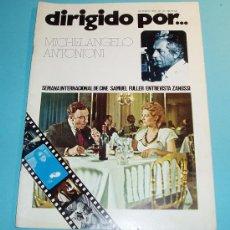 Cine: DIRIGIDO POR ... MICHELANGELO ANTONIONI. Nº 27 OCTUBRE 1975. Lote 27377545