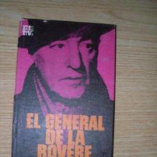 Cine: EL GENERAL DE LA ROVERE (Y OTROS HÉROES) -INDRO MONTANELLI- (SEGUNDA GUERRA MUNDIAL, CINE, SICA).. Lote 27287796