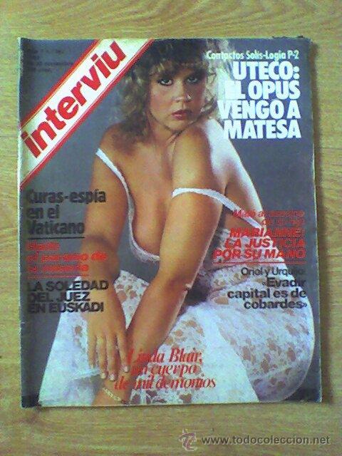 Revista Interviu Linda Blair Desnuda N341 Novi Sold Through