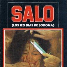 Cine: SALO - LOS 120 DIAS DE SODOMA - PASOLINI - 1977. Lote 27326960