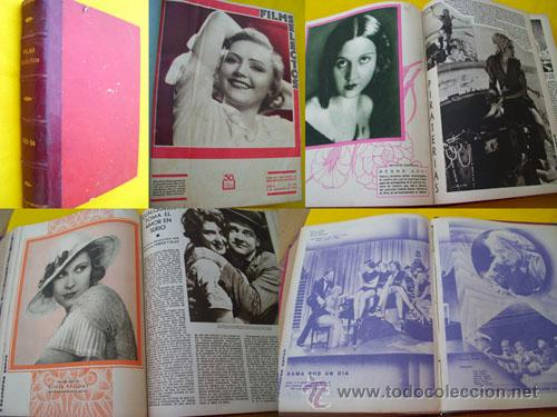 36 REVISTAS FILMS SELECTOS. SEMANARIO CINEMATOGRÁFICO ILUSTRADO. DEL Nº 112 AL 147. 1932/1933 (Cine - Revistas - Films selectos)