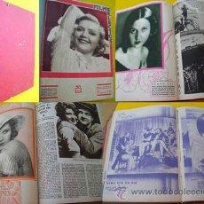Cine: 36 REVISTAS FILMS SELECTOS. SEMANARIO CINEMATOGRÁFICO ILUSTRADO. DEL Nº 112 AL 147. 1932/1933. Lote 27570370