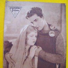 Cine: POPULAR FILM. Nº 286. FEBRERO 1932. Lote 27670980