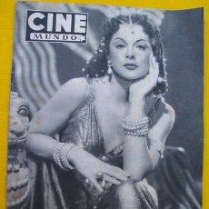 Kino - CINE MUNDO. Nº 20. 20 Julio 1952 - 27671397