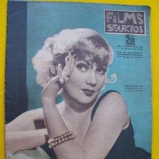 Cine: FILMS SELECTOS. Nº 273. 11 ENERO 1936. Lote 27671737