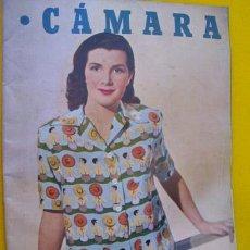 Cine: CÁMARA. REVISTA CINEMATOGRÁFICA ESPAÑOLA. Nº 177 . MAYO 1950. Lote 27672373