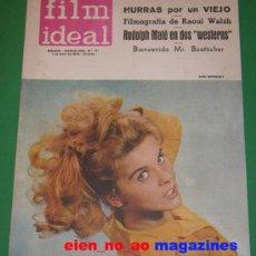 Cine: FILM IDEAL Nº 171/1965 ANN MARGRET~RAOUL WALSH~BUDD BOETTICHER~JEAN NEGULESCO . Lote 27734047