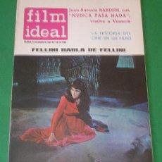 Cine: FILM IDEAL Nº 126/1963 ELIZABETH TAYLOR~FEDERICO FELLINI. Lote 27734150