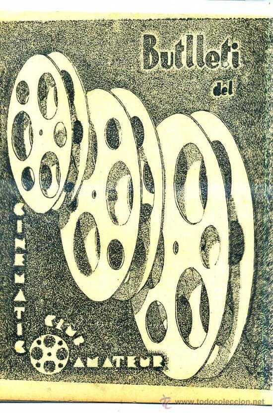 BOLETÍN OFICIAL DEL CINEMATIC CLUB AMATEUR 1933 A 1937 - 32 NÚMEROS (Cine - Revistas - Otros)