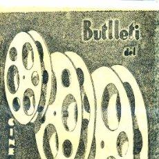 Cine: BOLETÍN OFICIAL DEL CINEMATIC CLUB AMATEUR 1933 A 1937 - 32 NÚMEROS. Lote 27797345